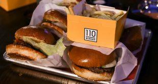 המבורגר מ-110% בשר טרי (צילום: נוי ערקובי)