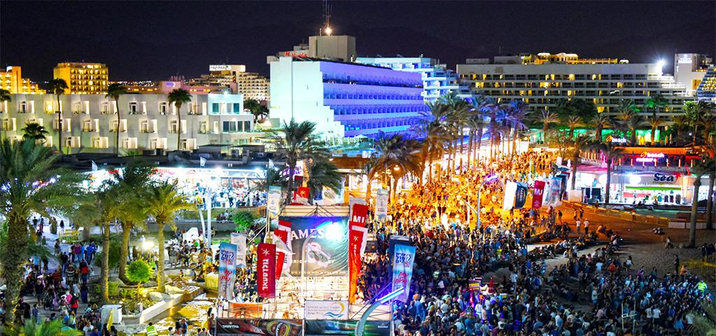 פסטיבל הבירה בים האדום (צילום: יהודה בן יתח)